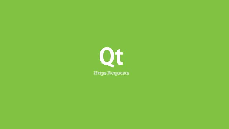 C++ Qt :: Https Request