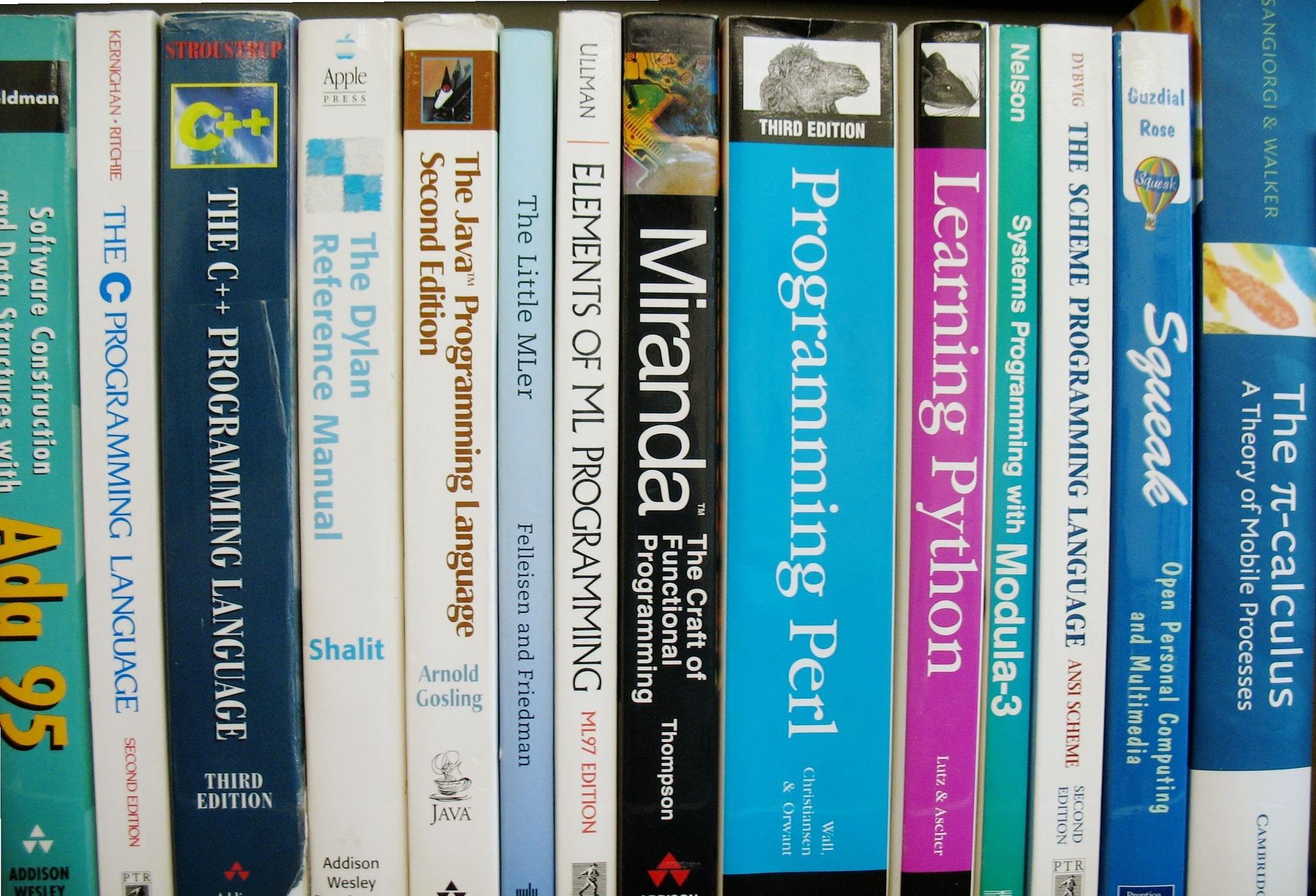 프로그래밍 언어에 관련된 지식